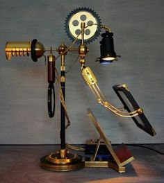 Ferryman Reading + Research Lamp