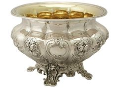 The Victorians sure knew how to make silverware. This sterling silver sugar bowl is absolutely stunning!