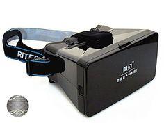 VIGICA DIY 3d Video Glasses Universal Virtual Reality Glasses