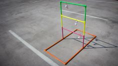 DIY Ladder Ball: easy instructionsfor making your own ladder golf set up. Perfect for #tailgating and #gameday