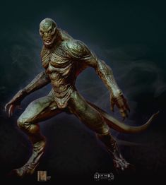 See What the Lizard Almost Looked Like in THE AMAZING SPIDER-MAN Concept Art by Ian Joyner « Film Sketchr