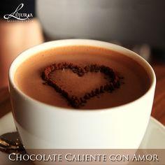 Mi amor te lo expreso de muchas formas y en el chocolate caliente hallé la más deliciosa.