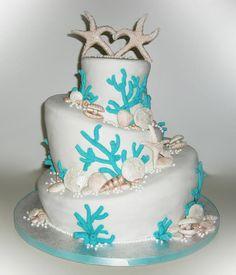 Ocean themed cake~