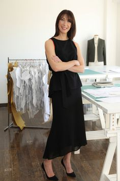 Samantha Cameron launches her own fashion label Samantha Cameron, Fashion Labels, Fashion Line, New Fashion, Fashion Outfits, Capsule Outfits, Capsule Clothing, Clothing Labels, Bridesmaid Dresses
