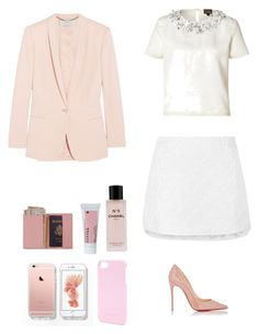 """""""Sin título #416"""" by belen-saenger ❤ liked on Polyvore featuring Maison Margiela, Royce Leather, Chanel, Korres, Miu Miu, Ted Baker, Giambattista Valli and Christian Louboutin"""