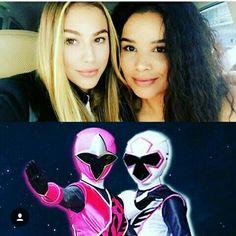 Rangers Femininas Ninja Steel Power Rangers Ninja Steel, Go Go Power Rangers, Fifth Harmony, Kamen Rider, Pretty Girls, Joker, Artsy, Hero, Comics