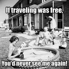 Looking for the perfect meme? Don't miss these 55 funny travel and vacation memes that are so true. Vacation Meme, Funny Quotes, Funny Memes, Travel Humor, Free Travel, Travel Tips, Best Vacations, How I Feel, Oh The Places You'll Go