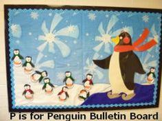 P is for Penguin Bulletin Board