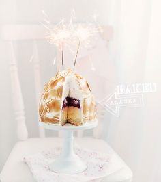 Baked Alaska Recipe by Call Me Cupcake