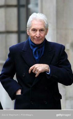 Charlie Watts.....the best drummer in the best band ever...The Rolling Stones!