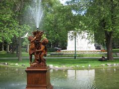 Birds & cherubs, Parc Outremont, Montreal, Quebec- My mother's home, place of my birth Montreal Quebec, Quebec City, Canadian House, Travel Channel, Grand Tour, Historical Sites, Egypt, Cool Photos, Travel Destinations