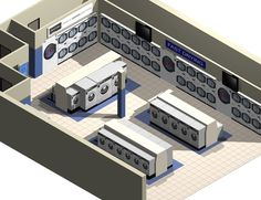 Coin Laundry Layout | Loomis Bros. | Laundry Consulting Services & Plant…