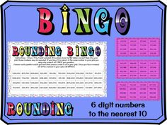 Rounding to the nearest 10 with 6 digit numbers BINGO Rounding Activities, Learning Activities, Tes Resources, Teaching Resources, Easter Jokes, Math Bingo, Dice Template, Assessment For Learning