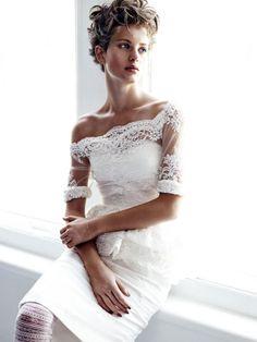 Ellinore Erichsen by Victor Demarchelier for Vogue Japan Wedding Fall/Winter 13-14