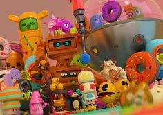 Plastic nation-part 1 on Behance | gaming inspiration | digital media arts college | www.dmac.edu | 561.391.1148