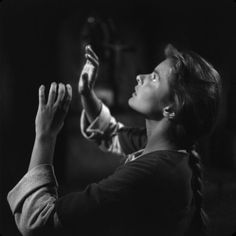 """Ingrid Bergman, in 1948, during the making of her longtime dream project, """"Joan of Arc"""" lmr"""