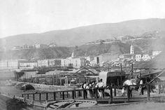Otra vista del Puerto de Valparaiso en 1865.