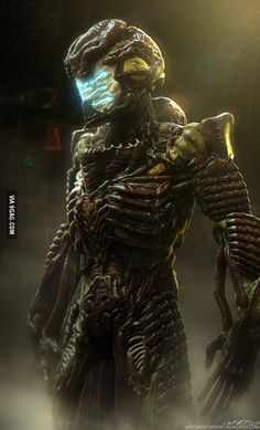 I made an Organic Bio-suit Isaac from Dead Space