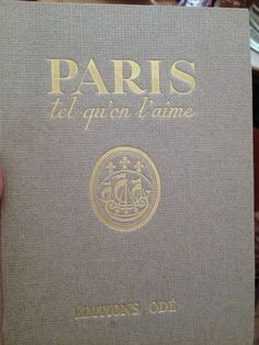 The best book....full of beautiful maps and illustrations  xo--FleaingFrance