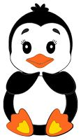 Free Svg file Penguin Card making scrapbooking