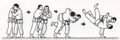 Uchi-mata - inner thigh throw