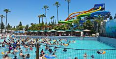 Are you planning to visit Knott's Soak City in Buena Park? It's a fun family vacation idea if you're in Southern California. Read our tips before your trip. Soak City, Buena Park, Best Family Vacations, Southern California, Water, Fun, Top Family Vacations, Gripe Water, Hilarious
