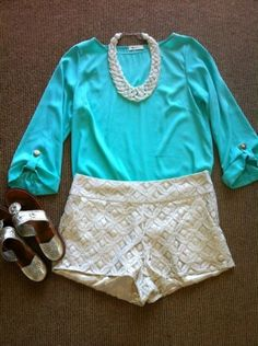 gorgeous outfit. love the bright blue paired with soft neutrals + navajos sandals. LOVE this color!