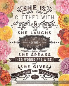 ~◆ the Proverbs 31 woman ◆~