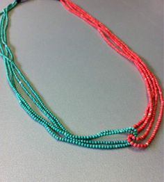 #precious_pagrati #jewellery #handmade #crystals #gemstones #coral #necklace