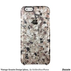 Vintage Granite Design Iphone6/6s Cases Uncommon  Clearly™ Deflector iPhone 6 Case $44.65