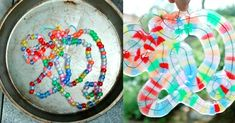 How to Make Melted Bead Art with Plastic Pony Beads