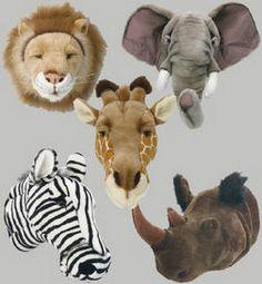 dierenkoppen: beestenkoppen dierenkop tijger Kids Room Bed, Jungle Room, Animal Heads, Baby Boy Rooms, Baby Room Decor, Room Themes, Creative Kids, Kidsroom, Children's Place