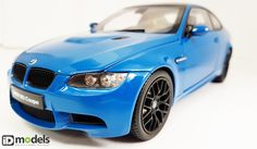 KYOSHO KY8734LBL BMW M3 Coupe (E92M) - Lagnaseca Blue 1/18 Bmw M3 Coupe, Diecast Models, 18th, Blue, Stuff To Buy, Shopping