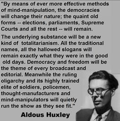 From 'Brave New World Revisited', written in 1958. Hat tip: Andrew Dickie, Richard Murphy (Tax Research UK). Join the Vox Political Facebook page. If you have appreciated this article, …