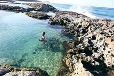Went to Mothar Mountain Rockpools, Blowhole Point Rockpool