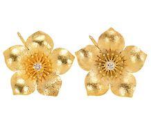 Suncatcher: Antique Diamond Blossom Earring
