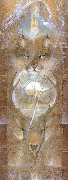 """Shaman's Totem"" par Susan Seddon Boulet"