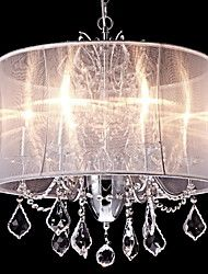 Chandelier ,  Modern/Contemporary Traditional/Classic Country Chrome Feature for Crystal Mini Style Designers MetalLiving Room Bedroom – CAD $ 405.87