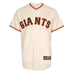 MLB San Francisco Giants Home Replica Jersey, Ivory, Medium | Your #1 Source for Sporting Goods & Outdoor Equipment #giants #worldseries #sanfrancisco #octobertogether