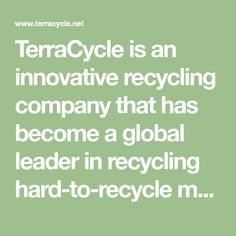 TerraCycle for beauty product waste How To Know, How To Find Out, How To Become, Secondary School, Primary School, Information Age, Reduce Waste, Zero Waste, Reduce Reuse