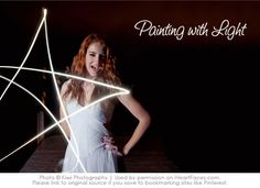 Learn how to photograph light painting in photos!  Cool tutorial from Kiwi Photography on .