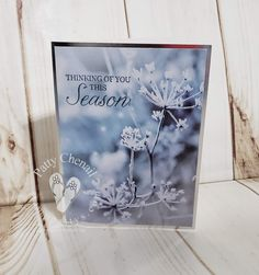 Using the Feels Like Frost designer paper from Stampin' Up! you can create cards like a pro with minimal effort! This is true at its finest! Winter Cards, Holiday Cards, Christmas Cards, Christmas 2016, Xmas, Welcome Fall, Wink Of Stella, Card Making Tutorials, Stampin Up Christmas
