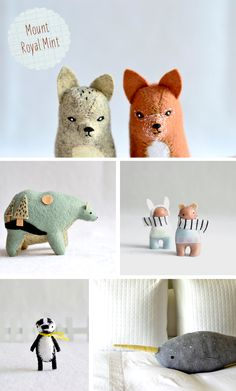OMG so cute! I have to try making some creatures like these