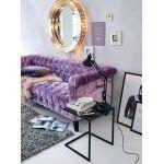 Beleuchteter Spiegel, Vintage Look, Glas, Metall Katalogbild