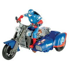 The Avengers Radio Control Trike - Captain America  - Silverlit Toys -  Cars - FAO Schwarz®