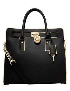 Handbags | Handbags | Hamilton Specchio Leather Large Tote Bag | Lord and Taylor