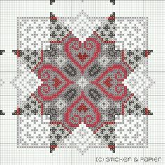 Brilliant Cross Stitch Embroidery Tips Ideas. Mesmerizing Cross Stitch Embroidery Tips Ideas. Biscornu Cross Stitch, Xmas Cross Stitch, Cross Stitch Heart, Cross Stitch Borders, Cross Stitch Designs, Cross Stitching, Cross Stitch Embroidery, Counted Cross Stitch Patterns, Paper Embroidery