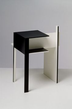 """""""If one can say Le Corbusier is one of the fathers of modernity, then one can say Eileen Gray is one of the mothers of modernity"""" - MARY McGUCKIAN - (De Stijl side table designed by Eileen Gray in Eileen Gray, Bauhaus, Vintage Furniture Design, Gray Furniture, French Interior, Interior Design, Pop Art, Contemporary Furniture, Creative Design"""