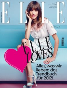 Alexa Chung, Elle Germany July 2012