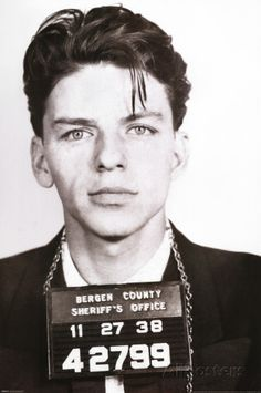Frank Sinatra - Mugshot Posters at AllPosters.com